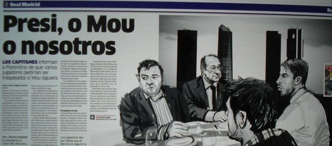 FLORENTINO, MOURINHO ȘI CRIZA DE LA MADRID
