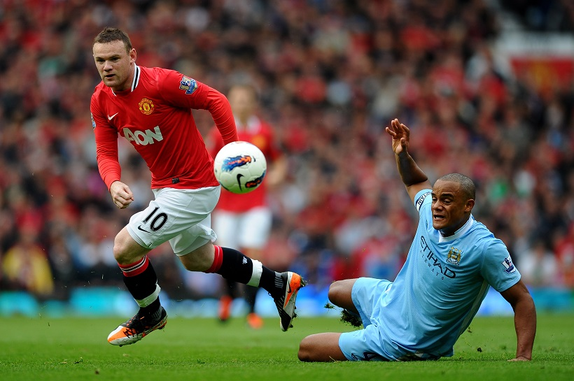 "MANCHESTER UNITED-MANCHESTER CITY: SUPERDERBY PE ""OLD TRAFFORD"""